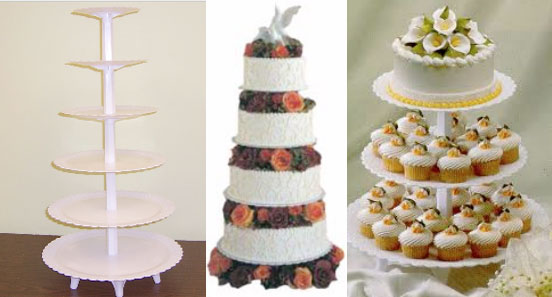 This tall tier cake stand can also be ... & Cake and Cupcake Stands | Sugar Art Cake \u0026 Candy Decorating Supplies ...