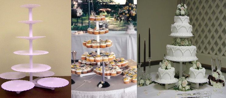 This tall tier cake stand ... & Cake and Cupcake Stands | Sugar Art Cake u0026 Candy Decorating Supplies ...