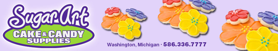 Sugar Art Cake & Candy Decorating Supplies | 586.336.7777 | Washington, Romeo, Macomb Twp, Michigan